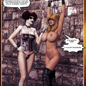 Hip Gals - Halloween Sex Kitten - Issue 1-16 Sex Comic HIP Comix 097