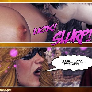 Hip Gals - Halloween Sex Kitten - Issue 1-16 Sex Comic HIP Comix 110