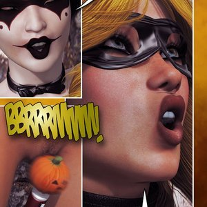 Hip Gals - Halloween Sex Kitten - Issue 1-16 Sex Comic HIP Comix 162