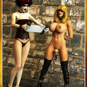 Hip Gals - Halloween Sex Kitten - Issue 1-16 Sex Comic HIP Comix 234