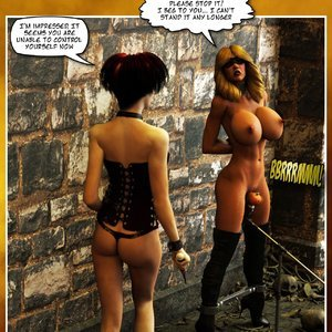Hip Gals - Halloween Sex Kitten - Issue 1-16 Sex Comic HIP Comix 237