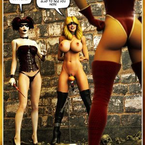 Hip Gals - Halloween Sex Kitten - Issue 1-16 Sex Comic HIP Comix 241
