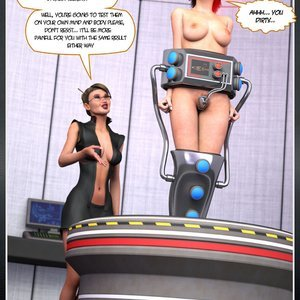 Hip Gals - Mindloss - Issue 1-8 Porn Comic HIP Comix 079