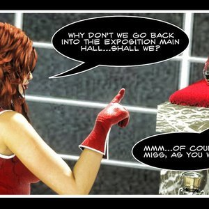 Hip Gals - The Defeat of Scarlet Lass Sex Comic HIP Comix 061