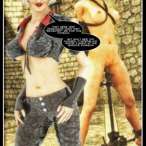 Hip Gals - The Defeat of Scarlet Lass Sex Comic HIP Comix 091
