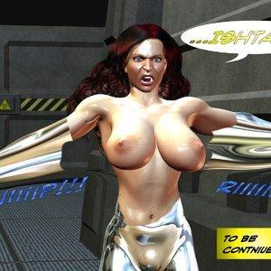 Ishtar vs. Indeks - Issue 1-7 Cartoon Porn Comic