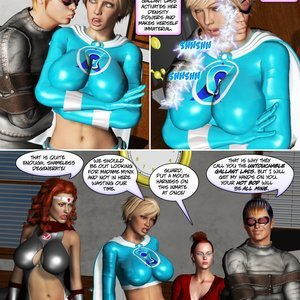 Musk of the Mynx - Issue 1-21 PornComix HIP Comix 223