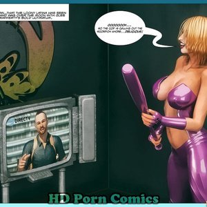 Scorpion Woman - Laugh or Lust - Issue 16-31 Cartoon Comic HIP Comix 097