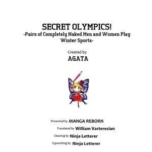 Secret Olympics Sex Comic