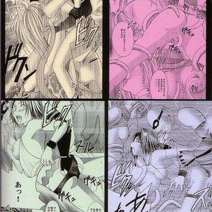 Final Fantasy X-2 Doujinshi - Yuna Rikku Double Hard Cartoon Porn Comic