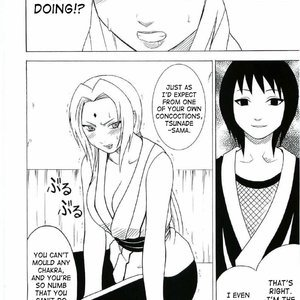 Naruto Doujinshi - Uzumaki Hanataba Cartoon Comic Hentai Manga 005