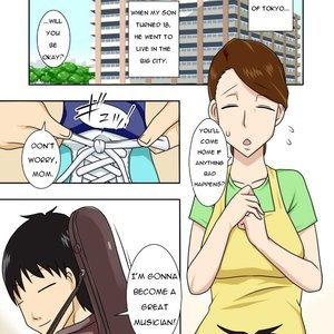 My Son Returned as a Blond Man-Slut Cartoon Comic Hentai Manga 002