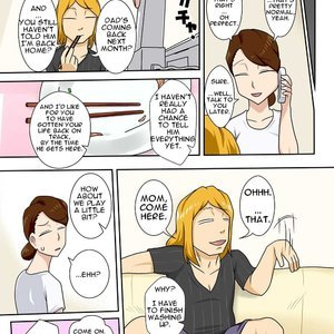 My Son Returned as a Blond Man-Slut Cartoon Comic Hentai Manga 013