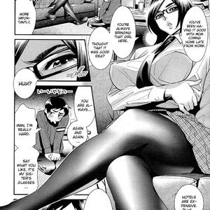 Megane no Megami Cartoon Porn Comic Hentai Manga 036