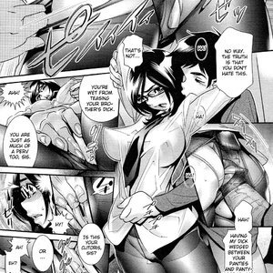 Megane no Megami Cartoon Porn Comic Hentai Manga 041