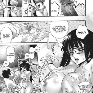 Megane no Megami Cartoon Porn Comic Hentai Manga 068
