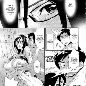 Megane no Megami Cartoon Porn Comic Hentai Manga 100