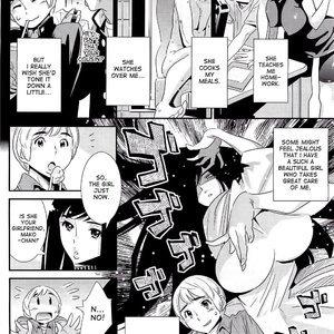 The Ghost Behind My Back PornComix Hentai Manga 004