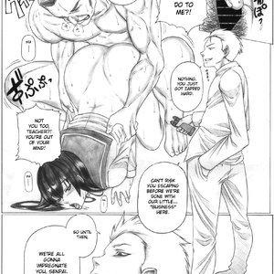Back Squeeze - Busujima Senpai Apocalypse Porn Comic Hentai Manga 004