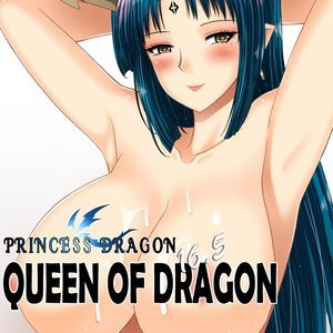 Porn Comics - Princess Dragon 16.5 Queen Of Dragon Porn Comic