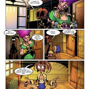 Lilly Heroine 14 PornComix Hentaikey Comics 011