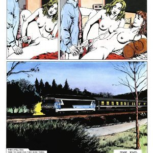 Night Train - Issue 1 Cartoon Comic