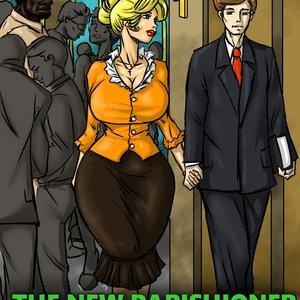 The New Parishioner Cartoon Porn Comic IllustratedInterracial Comics 001