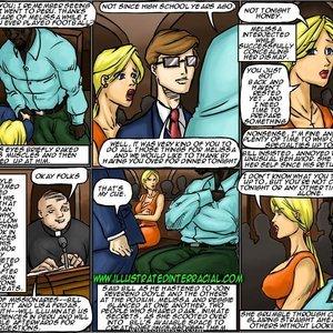 The New Parishioner Cartoon Porn Comic IllustratedInterracial Comics 077