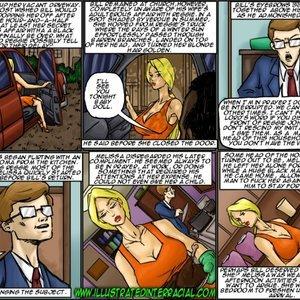 The New Parishioner Cartoon Porn Comic IllustratedInterracial Comics 086