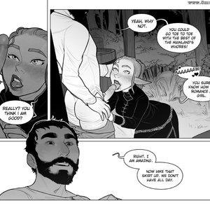 Chapter 1-3 Cartoon Porn Comic Incase Comics 040
