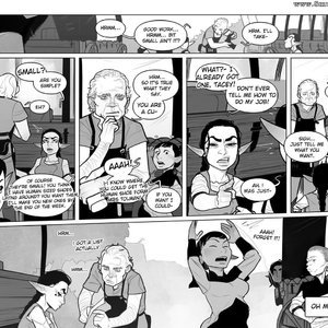 Chapter 1-3 Cartoon Porn Comic Incase Comics 055