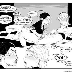 Chapter 1-3 Cartoon Porn Comic Incase Comics 129