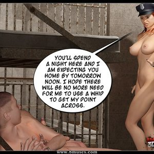 Busted. The Dominatrix Sex Comic