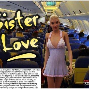 Sister Love Cartoon Porn Comic IncestChronicles3D Comics 001