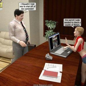 Naughty Granddaughter Plays with Grandpa Sex Comic IncestIncestIncest Comics 002