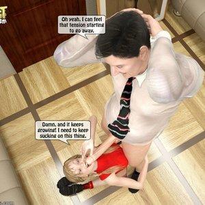 Naughty Granddaughter Plays with Grandpa Sex Comic IncestIncestIncest Comics 015