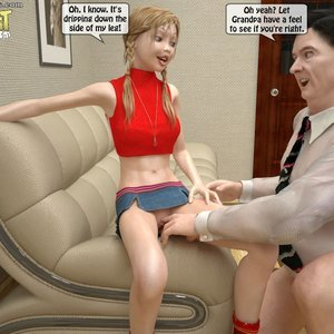 Naughty Granddaughter Plays with Grandpa Sex Comic IncestIncestIncest Comics 020