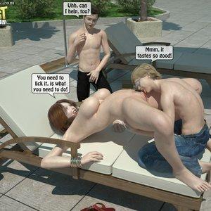 Sister Fuck Brother and Friend Under the Sun PornComix IncestIncestIncest Comics 018