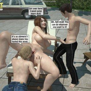 Sister Fuck Brother and Friend Under the Sun PornComix IncestIncestIncest Comics 019