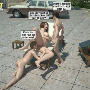 Sister Fuck Brother and Friend Under the Sun PornComix IncestIncestIncest Comics 020
