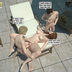 Sister Fuck Brother and Friend Under the Sun PornComix IncestIncestIncest Comics 022