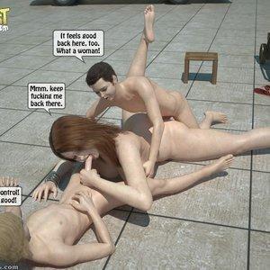 Sister Fuck Brother and Friend Under the Sun PornComix IncestIncestIncest Comics 027