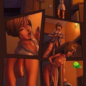 Porn Comics - Christine Solo Comic Porn Comic