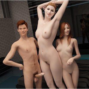 Boy and girl having sex with mom Cartoon Porn Comic