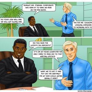 Modern Stepfather Cartoon Comic Interracial-Comics 002