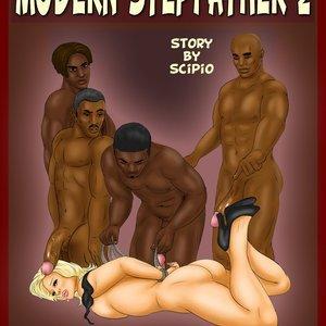 Modern Stepfather Cartoon Comic Interracial-Comics 037
