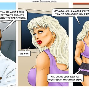 Modern Stepfather Cartoon Comic Interracial-Comics 057