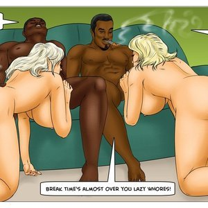 Modern Stepfather Cartoon Comic Interracial-Comics 097
