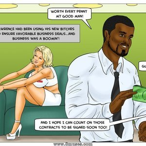 Modern Stepfather Cartoon Comic Interracial-Comics 100