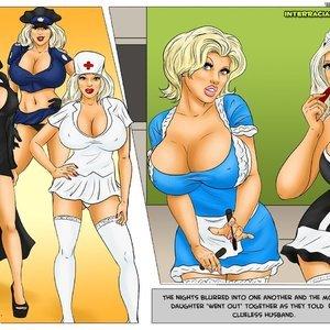 Modern Stepfather Cartoon Comic Interracial-Comics 103